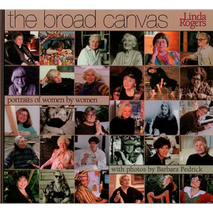 Book cover of The Broad Canvas by Linda Rogers