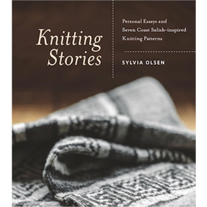 Book cover of Knitting Stories by Sylvia Olsen