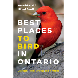 Book cover of Best Places to Bird in Ontario by Kenneth Burrell and Michael Burrell
