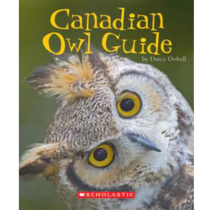 Book cover of Canadian Owl Guide by Darcy Dobell