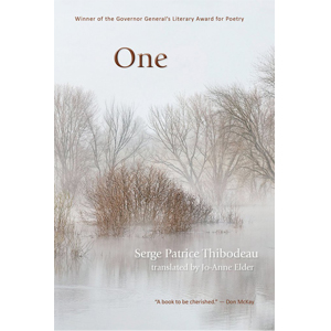Book cover of One by Serge Patrice Thibodeau