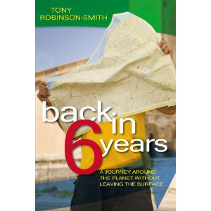Book cover of Back in 6 Years by Tony Robinson-Smith