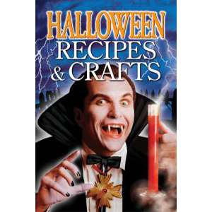 Book cover of Halloween Recipes and Crafts