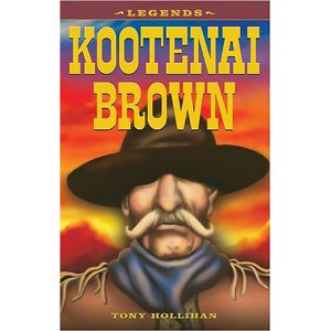 Book cover of Kootenai Brown by Tony Hollihan