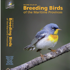 Book cover of Second Atlas of Breeding Birds of the Maritime Provinces