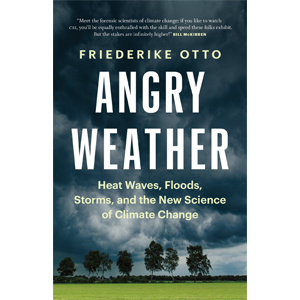 Book cover of Angry Weather by Friederike Otto