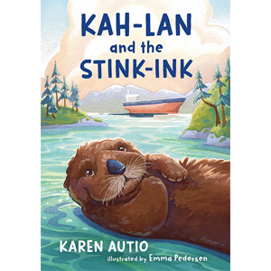 Book cover of Kah-Lan and the Stink-Ink by Karen Autio